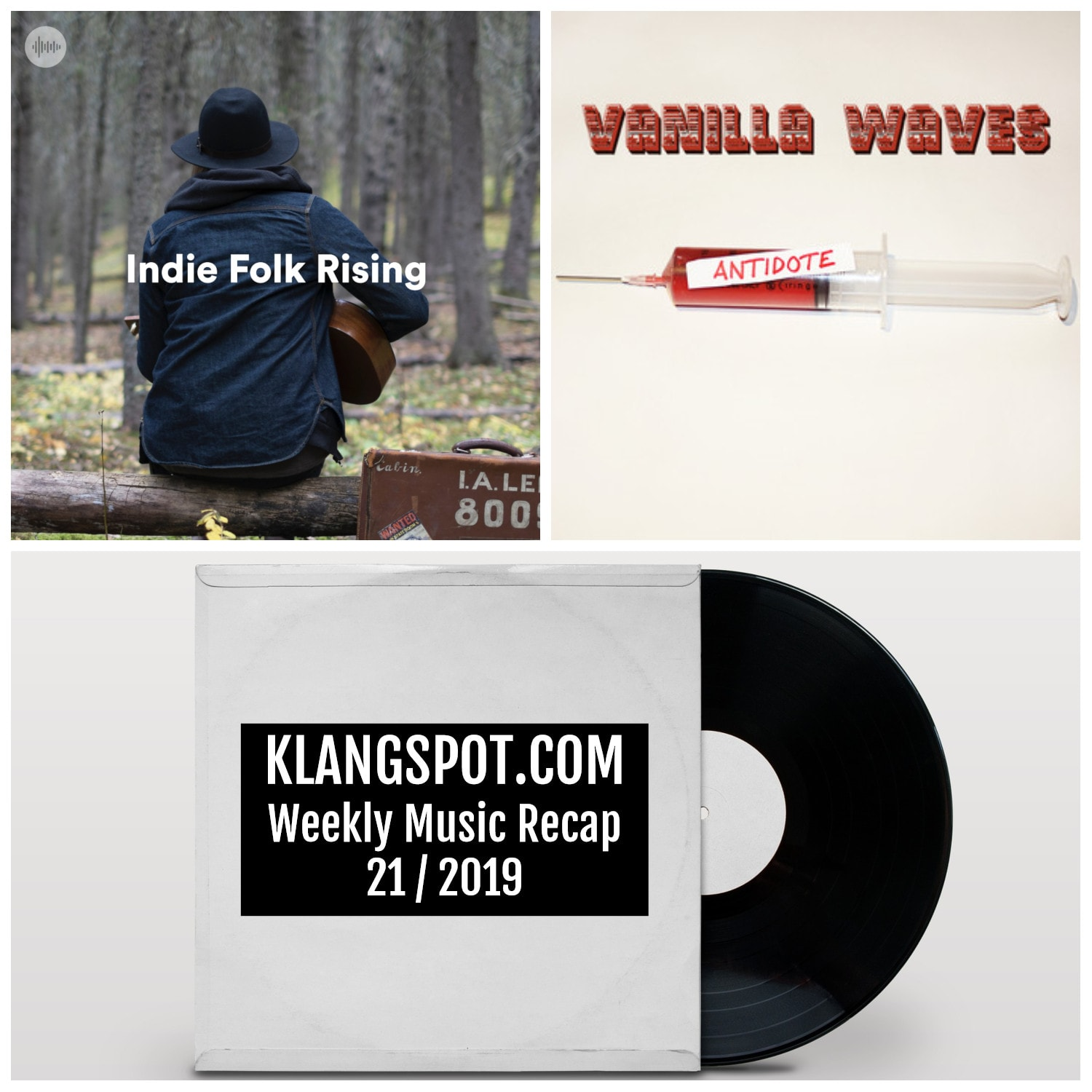 Weekly Music Recap | Week 21/2019: Indie Folk Rising / Vanilla Waves - 'Belltower Baby'