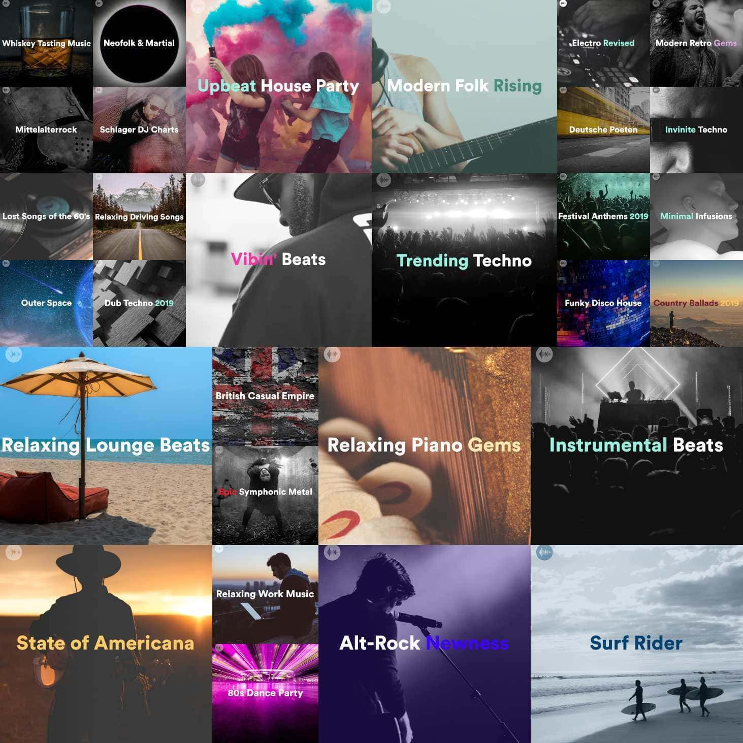 Klangspot Spotify Playlist Cover - Homepage