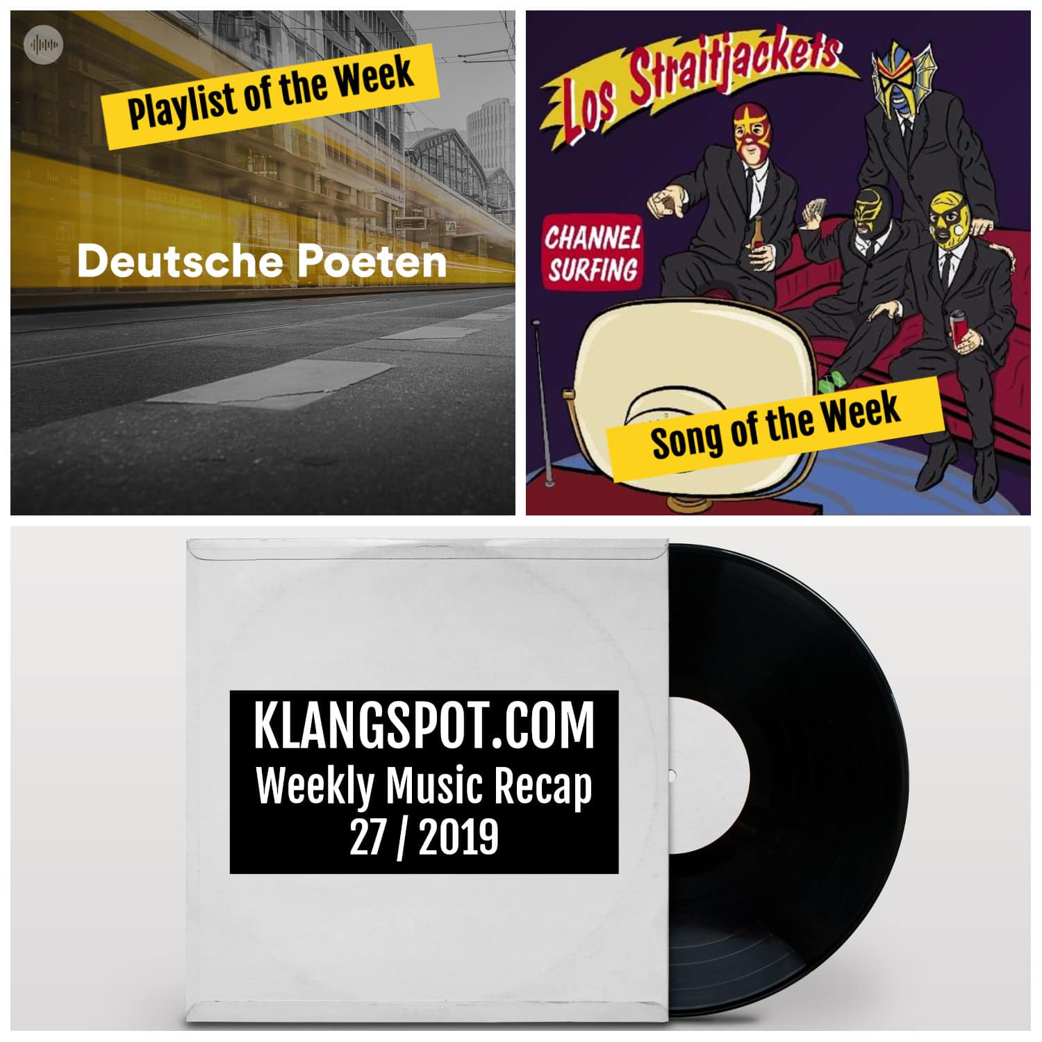 Weekly Music Recap 27/2019: Deutsche Poeten / Los Straitjackets - 'The Fishin' Hole'