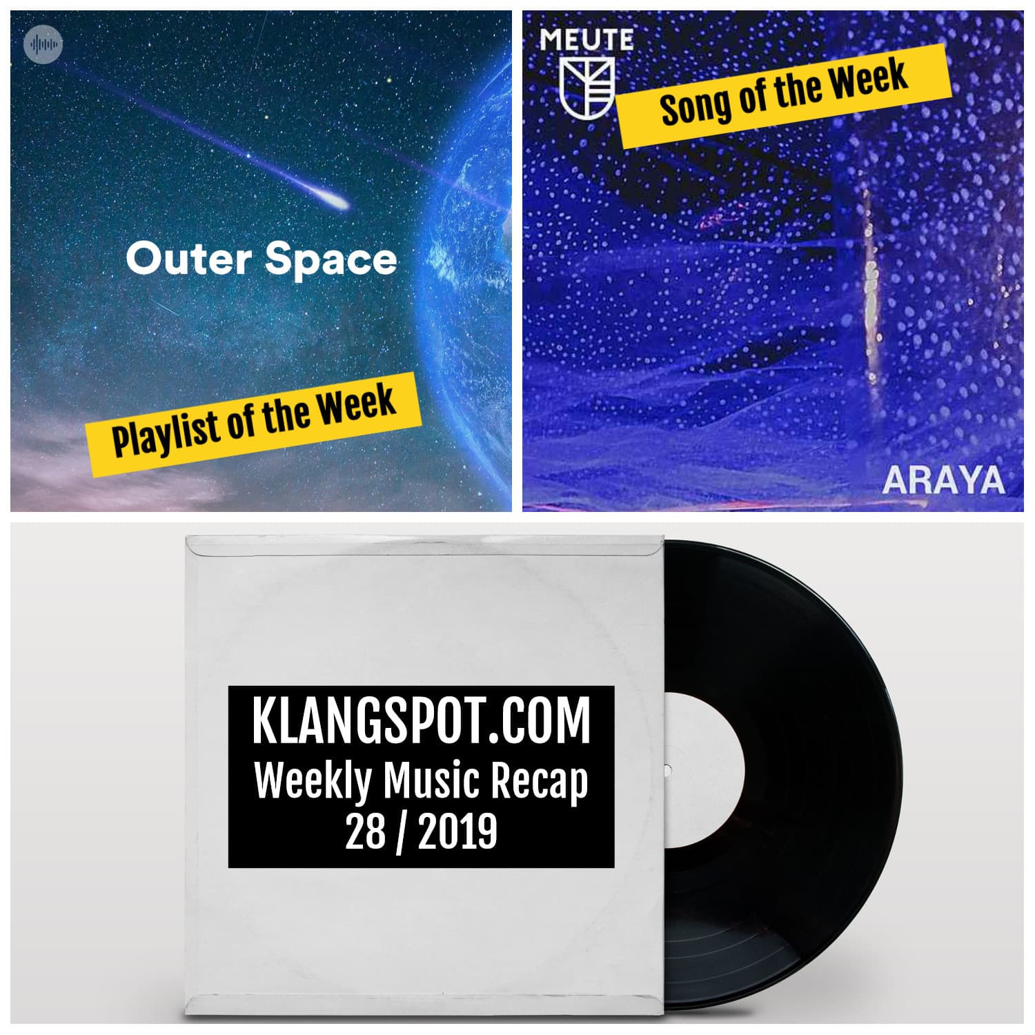 Weekly Music Recap 28/2019: Outer Space / MEUTE - 'Araya'