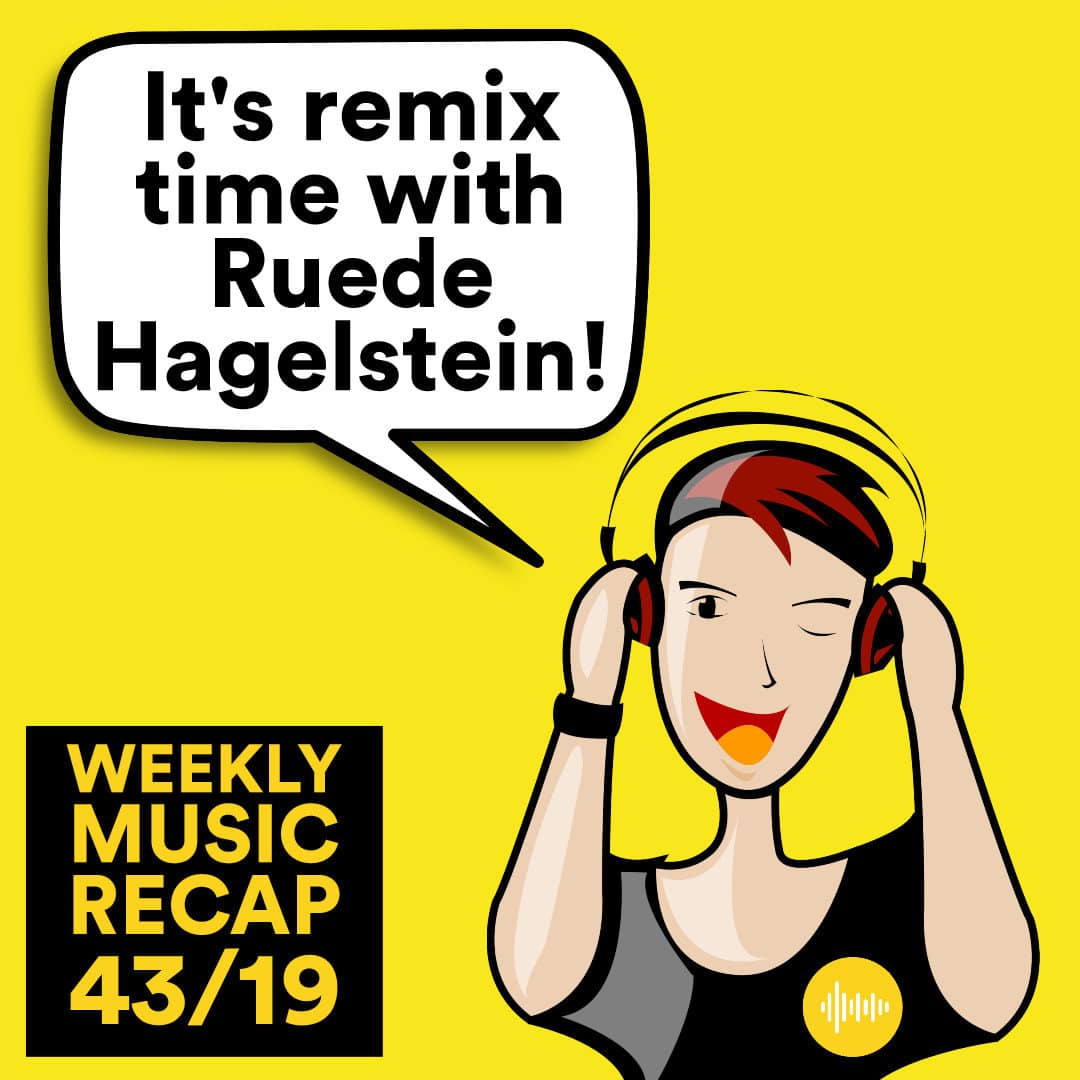 Weekly Music Recap 43/19: Fritz Kalkbrenner - Kings & Queens (Ruede Hagelstein's From The Other Side Of Town Remix)
