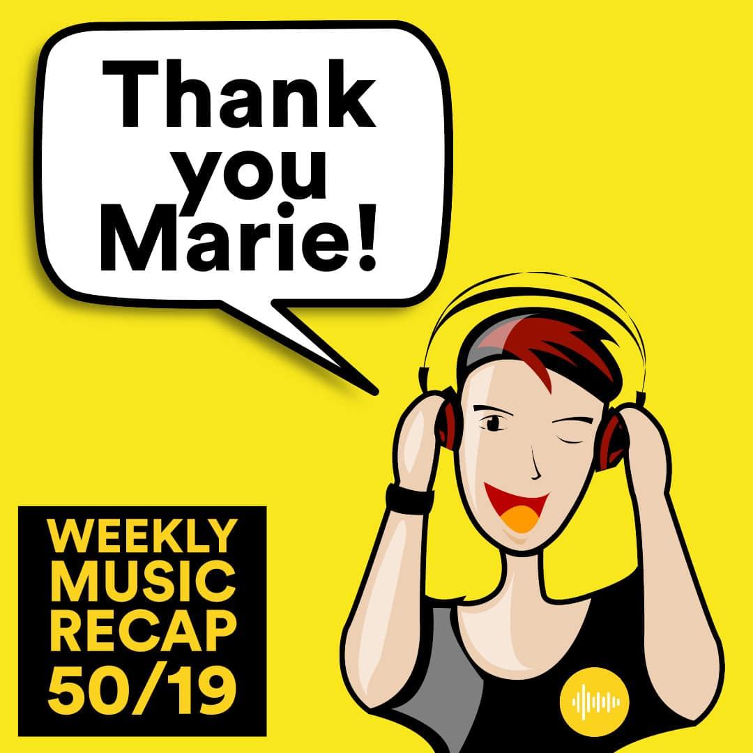 Weekly Music Recap 50/19: Roxette - Dangerous (80s Disco Hits)