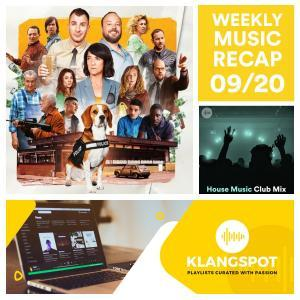 Weekly Music Recap 09/20: Agoria & Blasé - Wish Me Luck
